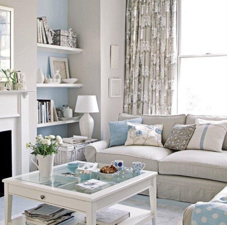 Small Blue Living Room Ideas Elegant Neutral Living Room with A touch Of Blue Cozy Neutral Living Rooms