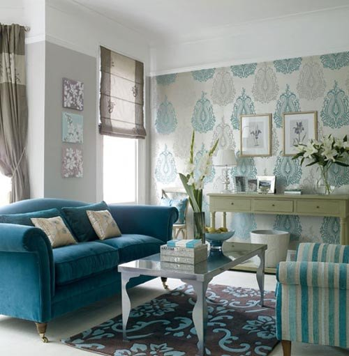 Small Blue Living Room Ideas Unique Living Room with Blue White Color Ideas