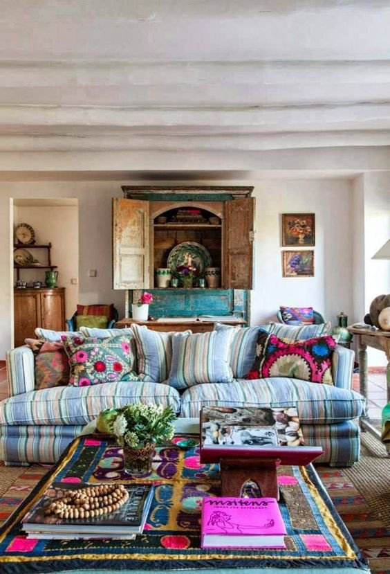 Small Bohemian Living Room Ideas Awesome 26 Bohemian Living Room Ideas Decoholic