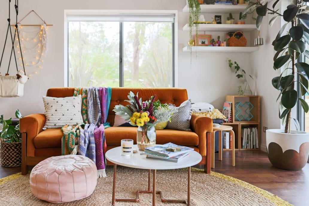 Small Bohemian Living Room Ideas Awesome Bohemian Style Decor Ideas From Australian Homes