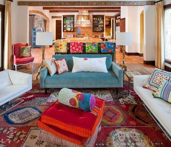 Small Bohemian Living Room Ideas Awesome How to Decorate Your Home with Vibrant Mexican Flair