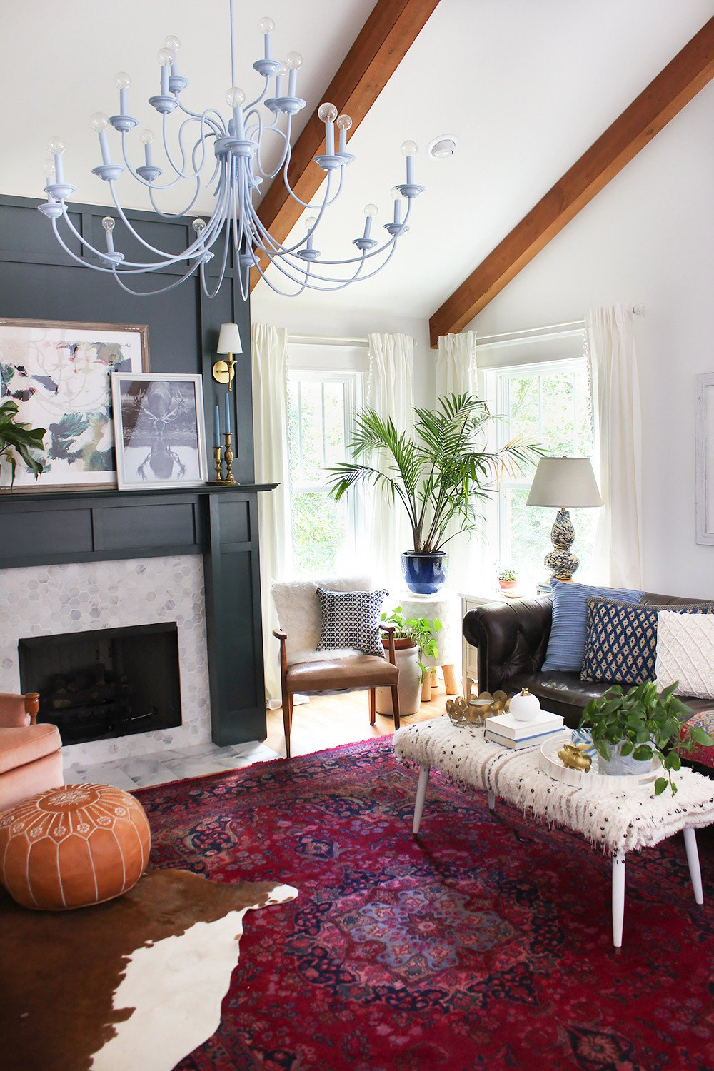 Small Bohemian Living Room Ideas Elegant Layered Living Room Reveal thewhitebuffalostylingco