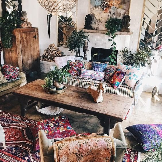 Small Bohemian Living Room Ideas Fresh 26 Bohemian Living Room Ideas Decoholic