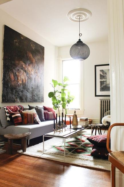 Bohemian Decor Ideas Adding Chic and Color to Small Living Room