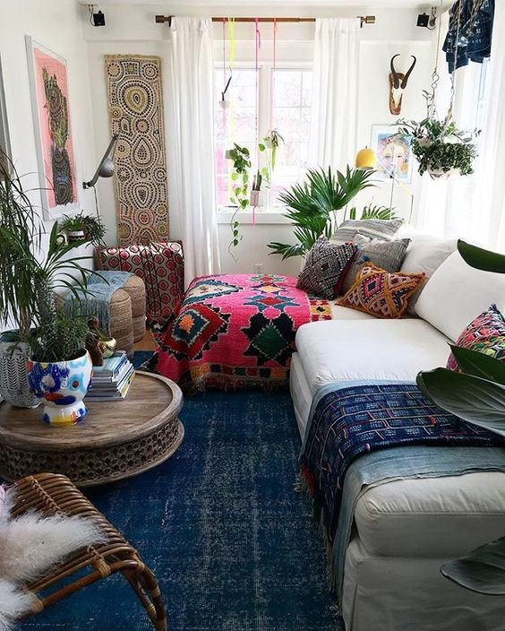 Small Bohemian Living Room Ideas Unique 26 Bohemian Living Room Ideas Decoholic