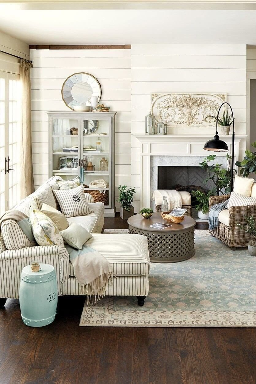 Small Farmhouse Living Room Ideas Awesome Neutral Farmhouse Living Room Decor Ideas Farmhouse Decor In 2019