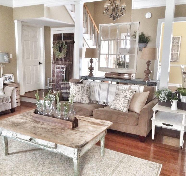 Small Farmhouse Living Room Ideas Fresh 45 Fy Farmhouse Living Room Designs to Steal Digsdigs