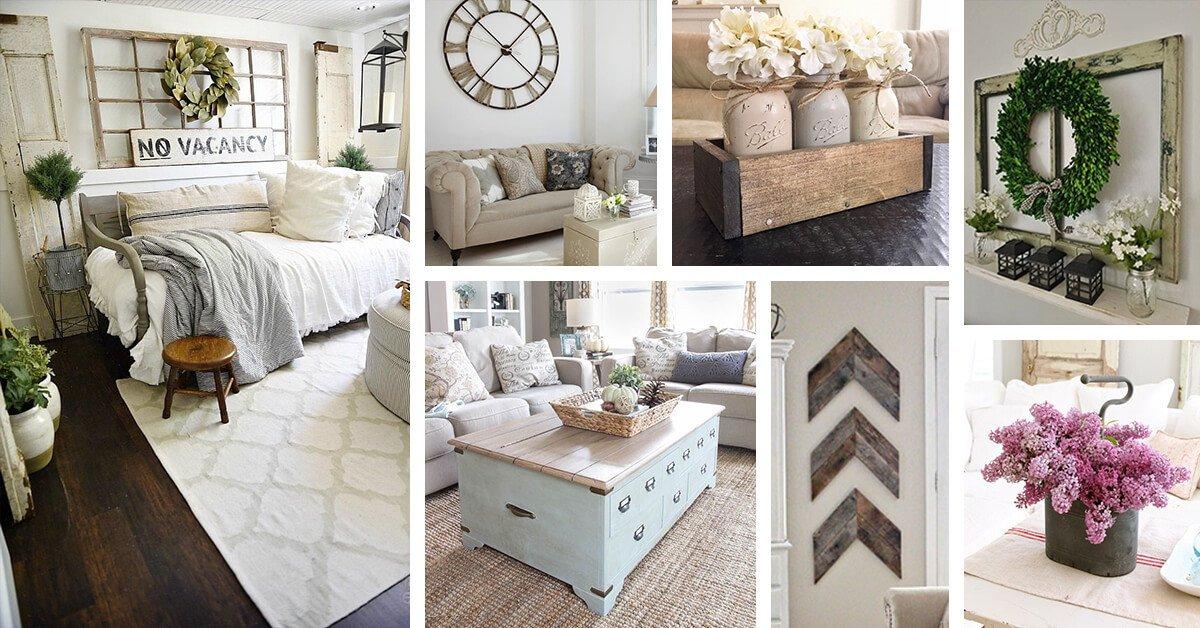 Small Farmhouse Living Room Ideas Inspirational 35 Best Farmhouse Living Room Decor Ideas and Designs for 2017