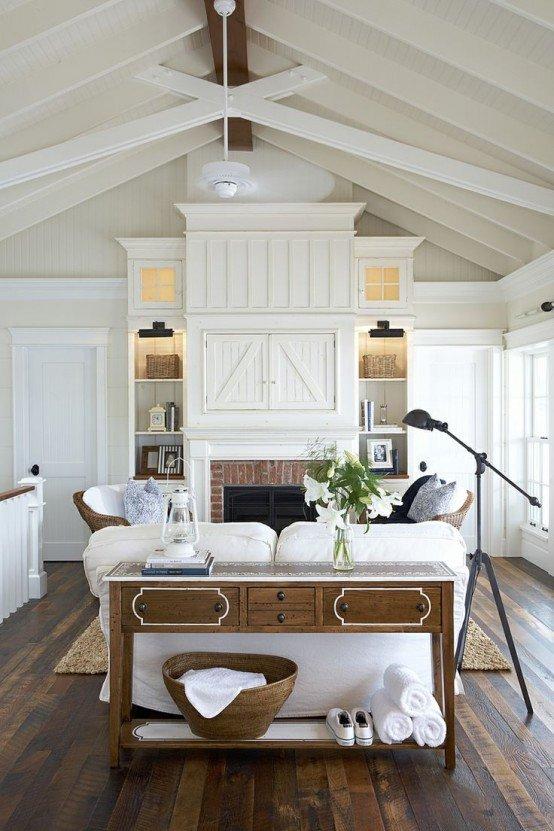 Small Farmhouse Living Room Ideas Unique 45 Fy Farmhouse Living Room Designs to Steal Digsdigs
