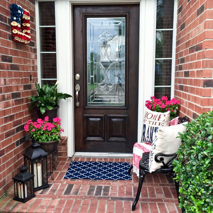 Small Front Porch Decor Ideas Awesome How to Decorate A Small Front Porch – Angela East