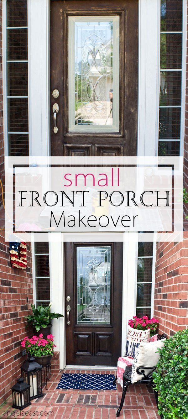 Small Front Porch Decor Ideas Inspirational How to Decorate A Small Front Porch – Angela East