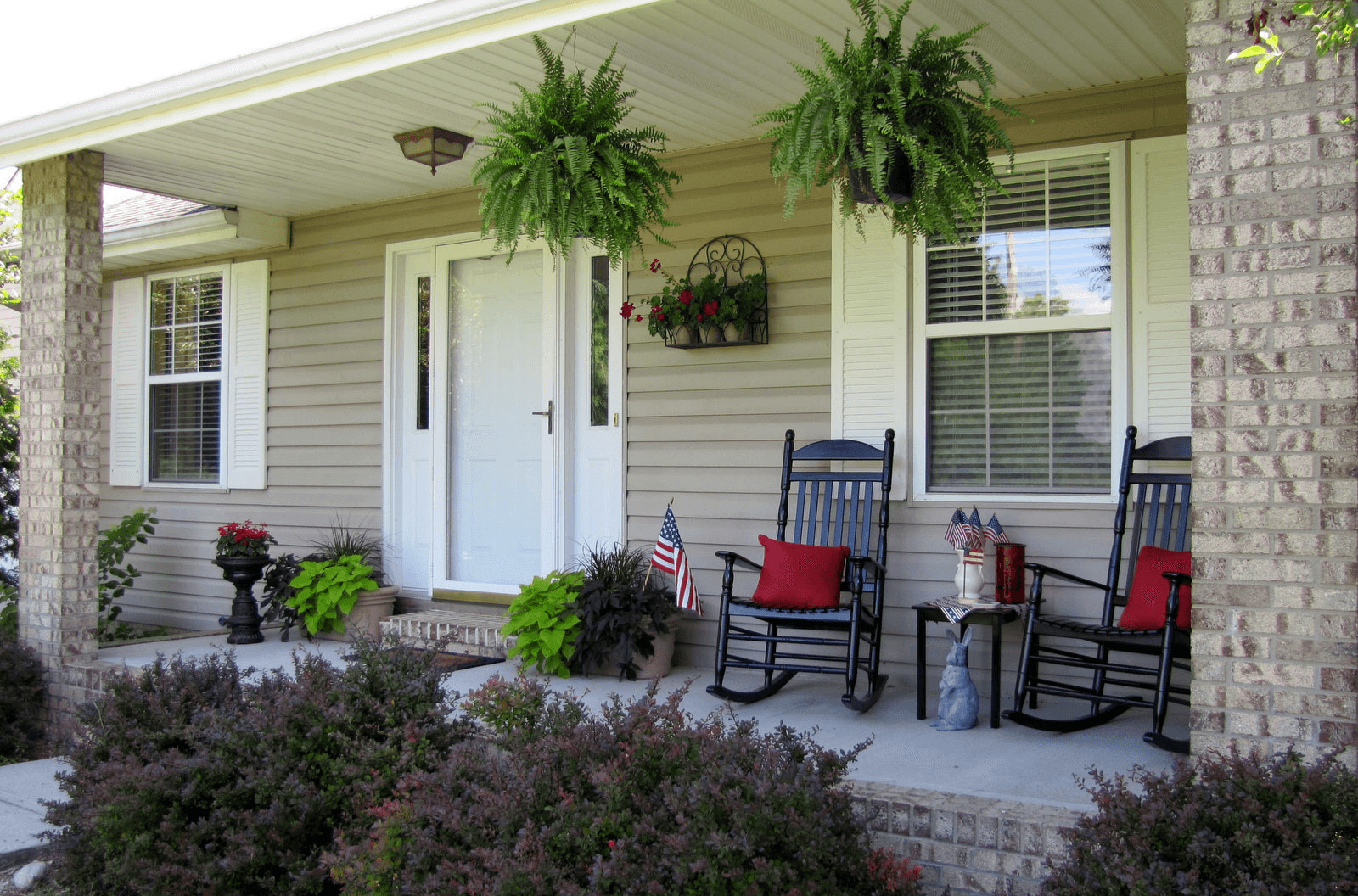Small Front Porch Decor Ideas Lovely Small Front Porch Decorating Ideas