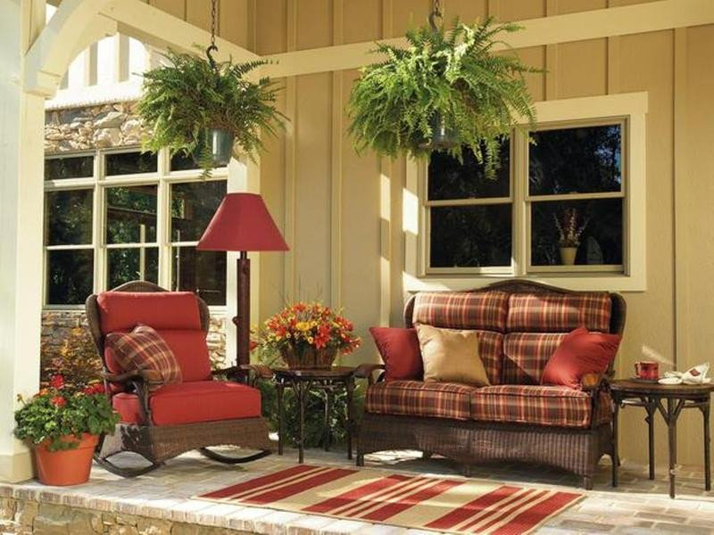Small Front Porch Decor Ideas New 10 Small Porch Decorating Ideas Rilane