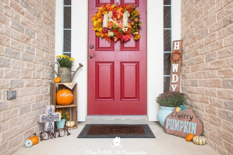 Small Front Porch Decor Ideas Unique Ideas for Decorating A Small Front Porch for Fall the American Patriette