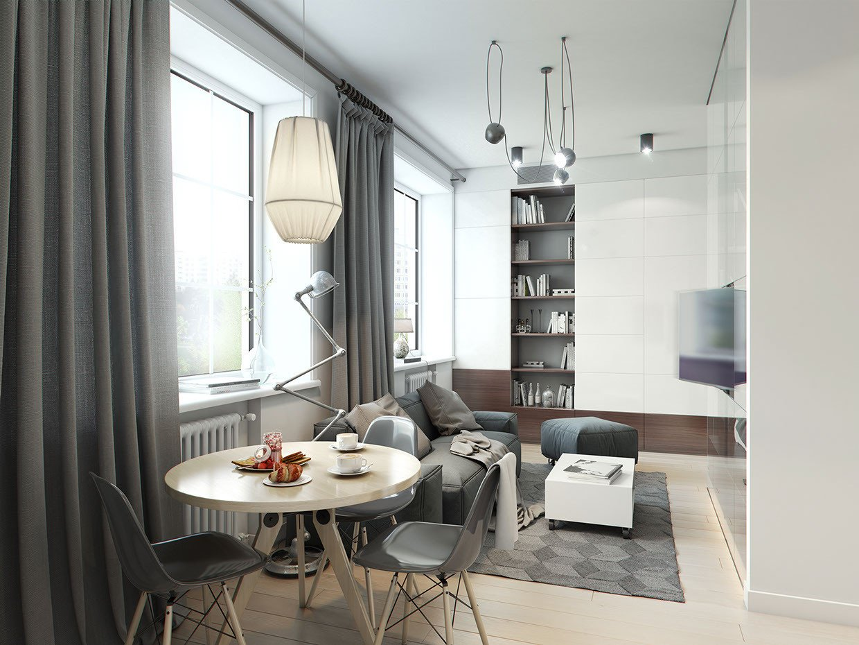 Small Gray Living Room Ideas Elegant A Super Small 40 Square Meter Home