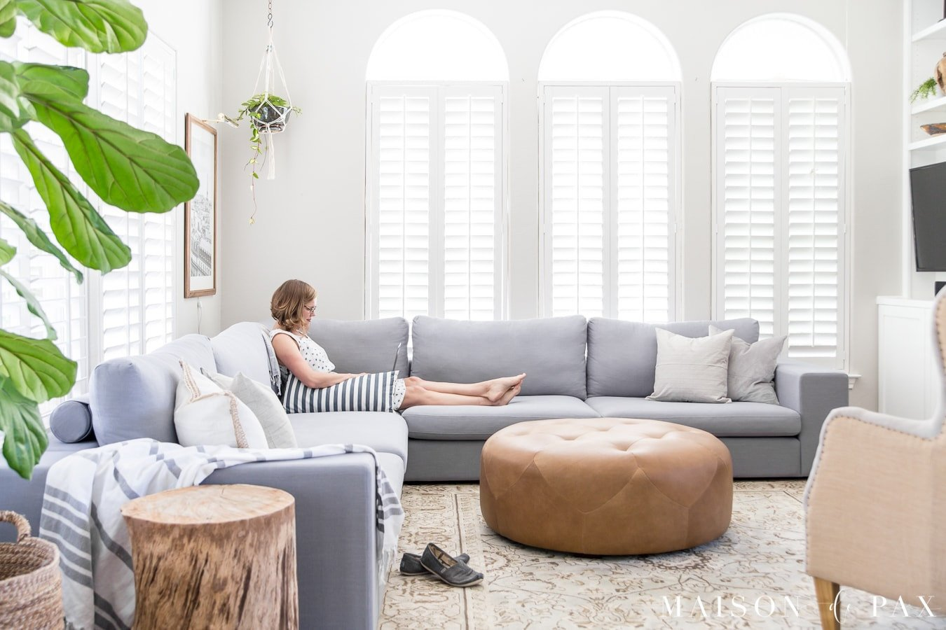 Small Gray Living Room Ideas Elegant Designing A Small Living Room with A Sectional Maison De Pax