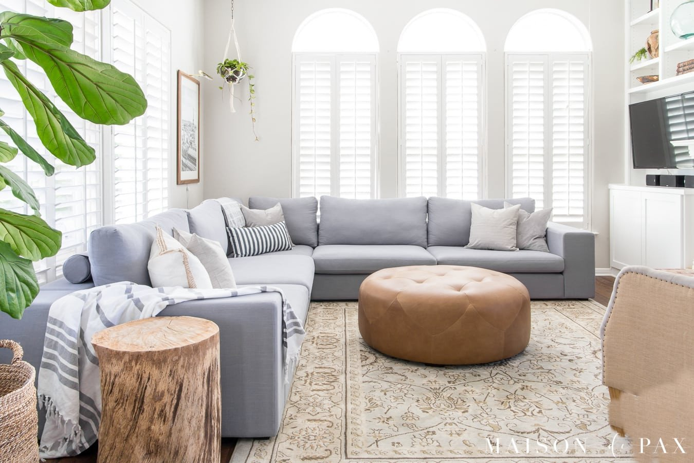 Small Gray Living Room Ideas Luxury Designing A Small Living Room with A Sectional Maison De Pax