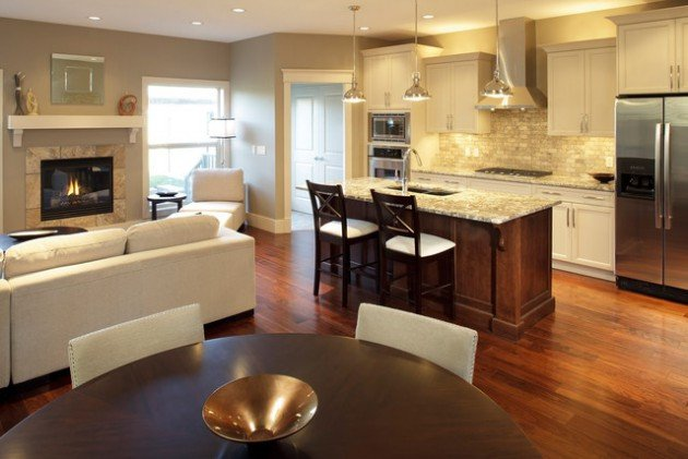 Small Kitchen Living Room Ideas Awesome 16 Smart Ideas to Decorate Small Open Concept Kitchen
