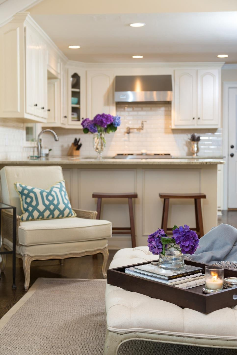 Small Kitchen Living Room Ideas Fresh Timeless Traditional Kitchen Living Room 2014
