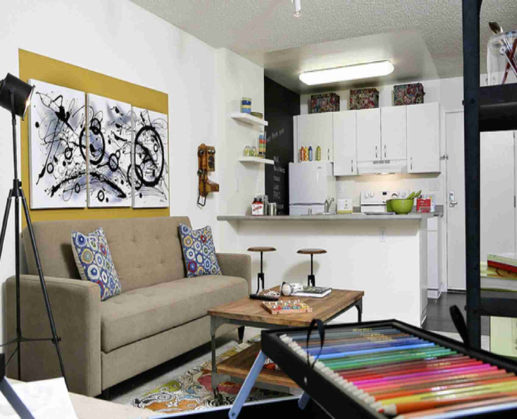 Small Kitchen Living Room Ideas Luxury 10 Tricks On How to Decorate Your Small Space Smashing tops