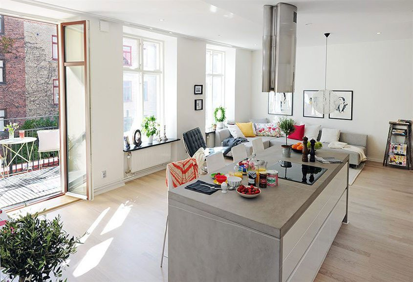 Small Kitchen Living Room Ideas New 20 Best Small Open Plan Kitchen Living Room Design Ideas