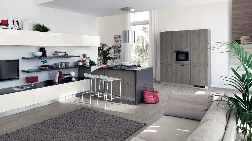 Small Kitchen Living Room Ideas Unique Contemporary Kitchens for and Small Spaces