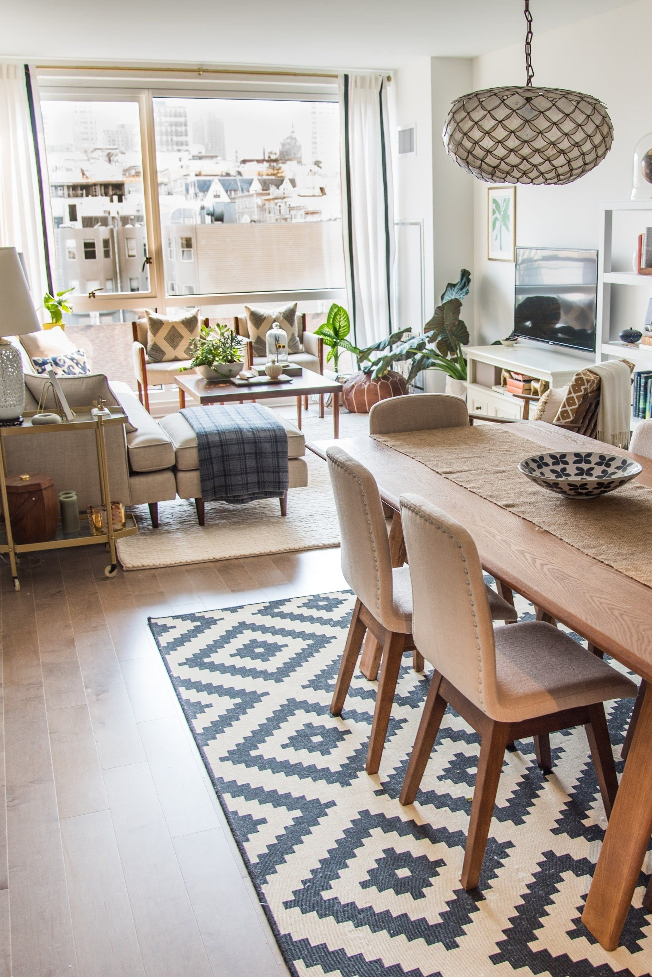 Small Living Dining Room Ideas Fresh Jeni's Mixed & Matched San Francisco Apartment Small Spaces In 2019