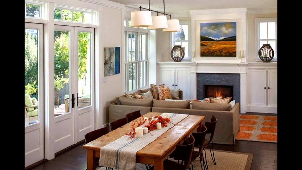 Small Living Dining Room Ideas Unique Living and Dining Room Design Ideas
