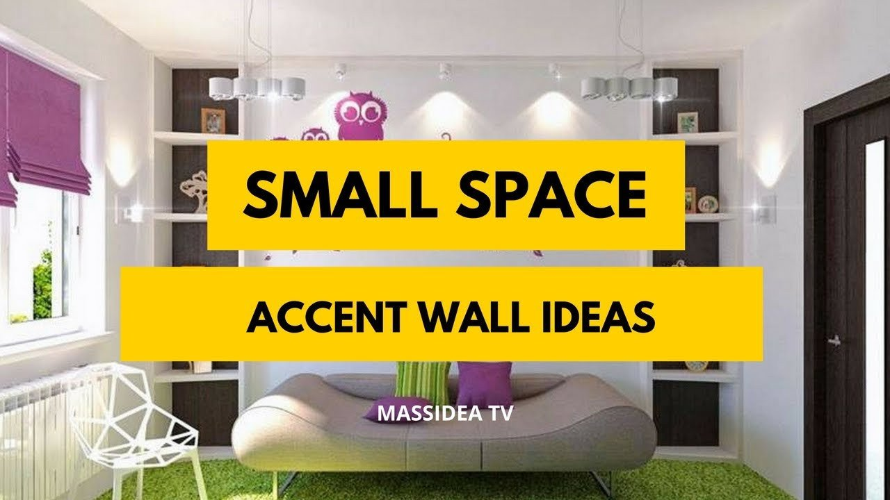 Small Living Room Accent Walls Ideas Beautiful 70 Best Small Space Accent Wall Design Ideas 2018