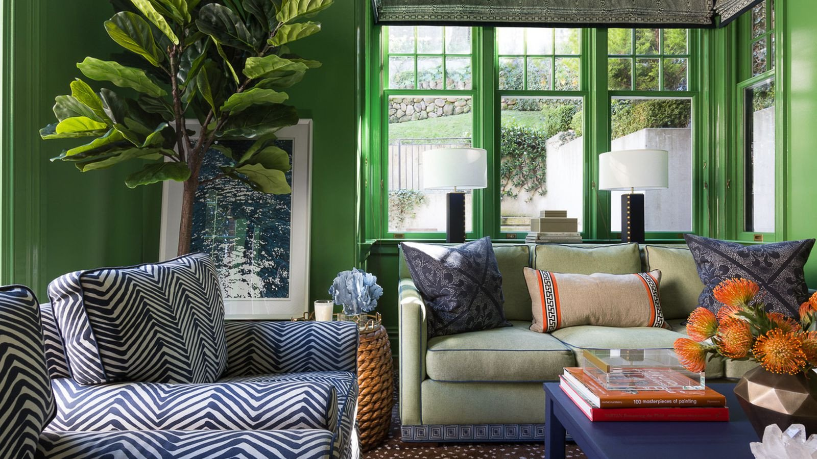 Small Living Room Design Colors Fresh 15 Bold Interior Paint Hues for Your Home Curbed