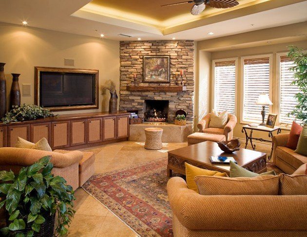 Small Living Room Fireplace Ideas Inspirational 17 Ravishing Living Room Designs with Corner Fireplace