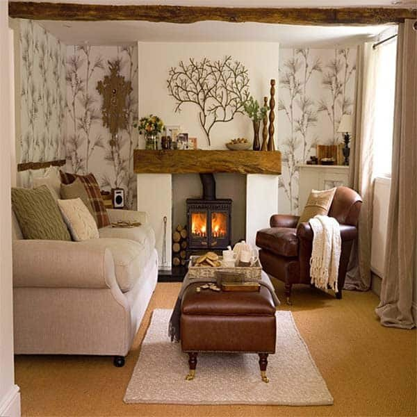 Small Living Room Fireplace Ideas New 38 Small yet Super Cozy Living Room Designs
