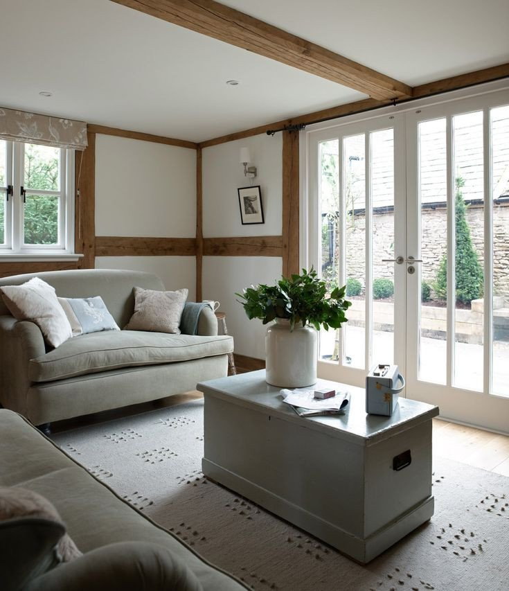 Small Living Room Ideas Doors Awesome Living Room to French Doors Eardisley Cottage Small House Swoon