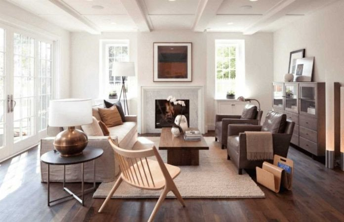 Small living room layout ideas for when you have too many windows and doors