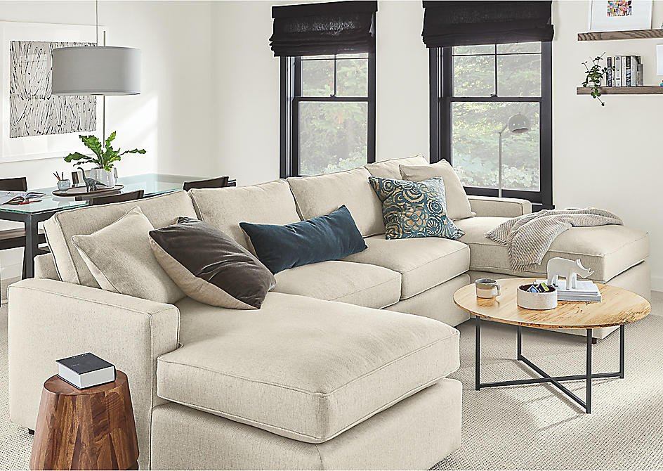 Small Living Room Ideaswith Sectionals Unique Seating Ideas for A Small Living Room Ideas & Advice Room & Board