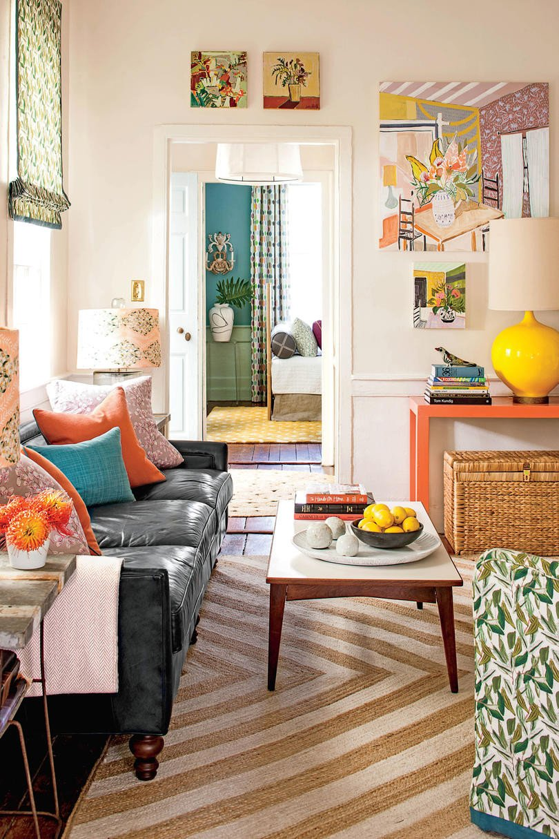 Small Living Room Interior Design Beautiful 50 Best Small Space Decorating Tricks We Learned In 2016 southern Living