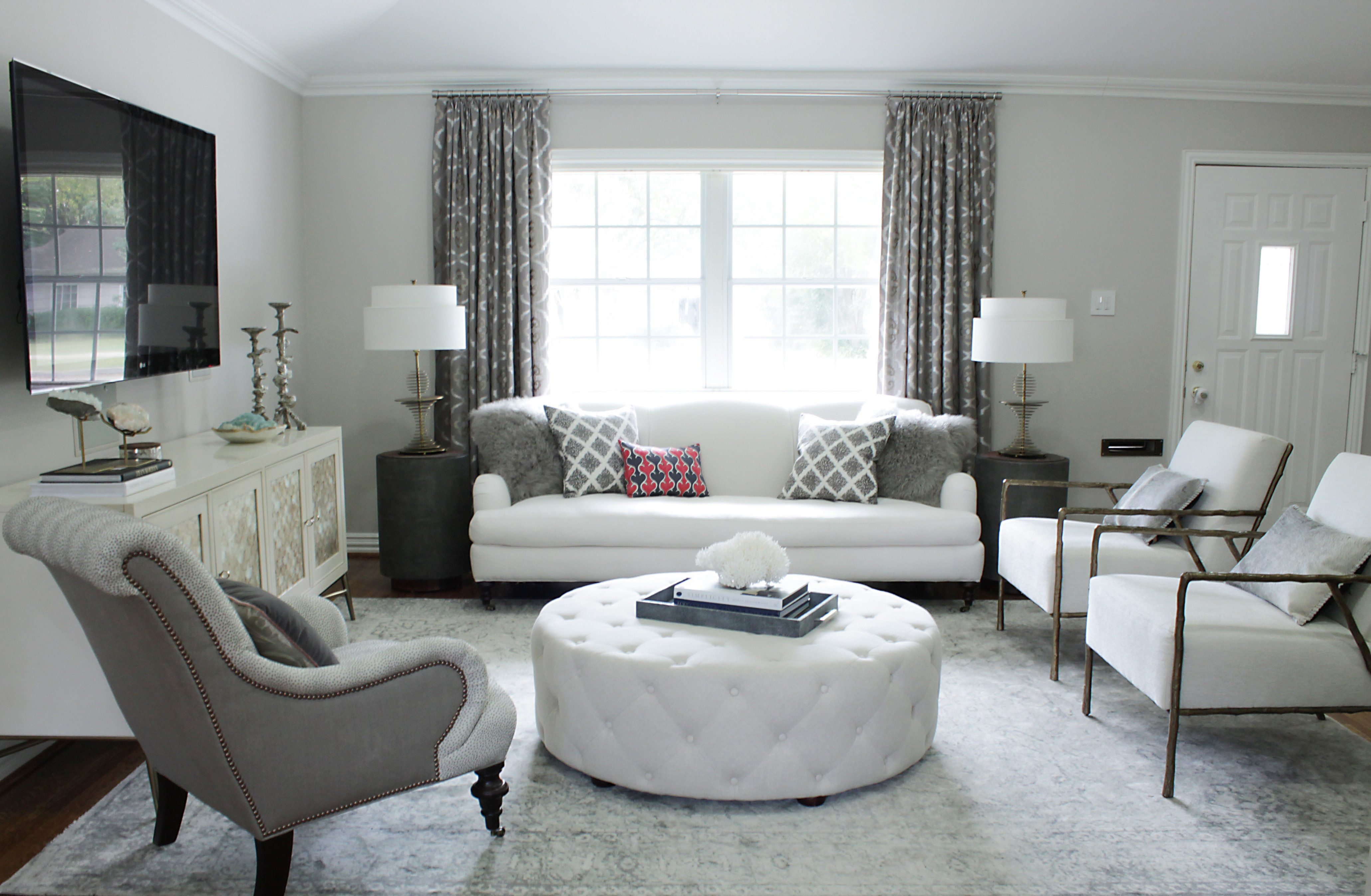 Small Living Room Makeover Ideas Beautiful before & after An Elegant Bud Friendly Living Room Makeover