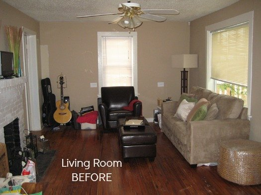Small Living Room Makeover Ideas Elegant before & after Decorating A 1950s Bungalow Hooked On Houses