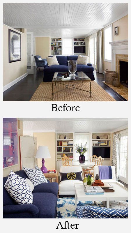 Small Living Room Makeover Ideas Luxury Living Room Makeovers before and after S
