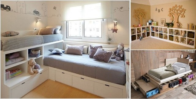Small Living Room organization Ideas Elegant 18 Clever Kids Room Storage Ideas