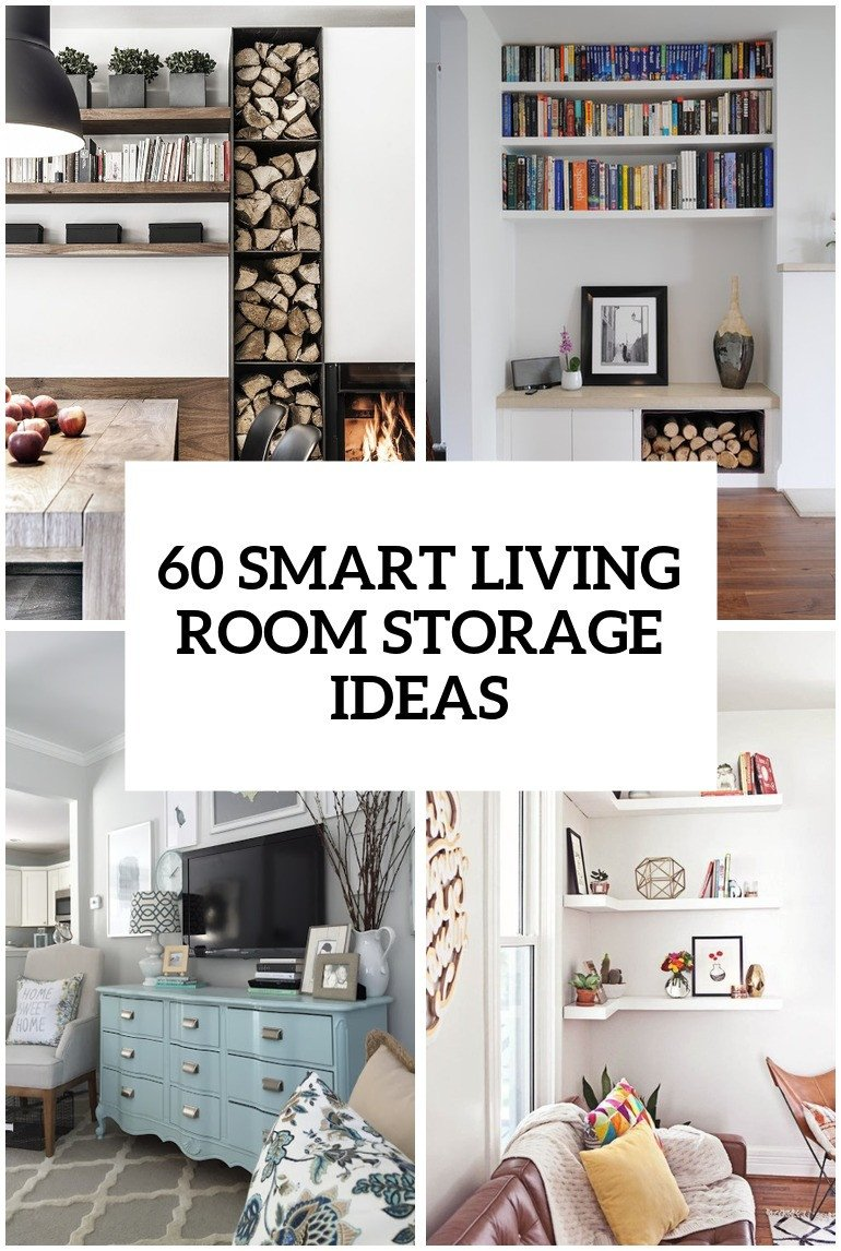 Small Living Room Storage Ideas Lovely 60 Simple but Smart Living Room Storage Ideas Digsdigs