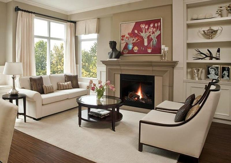 Small Living Room with Fireplace Lovely 23 Living Room Designs with Fireplaces