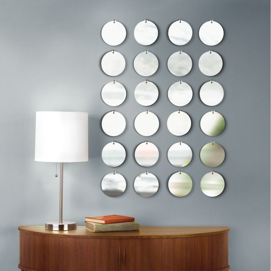 Small Mirrors for Wall Decor Beautiful Ways to Decorate Bare Wall
