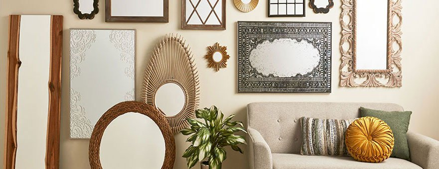Small Mirrors for Wall Decor Elegant Decorative Wall Mirrors