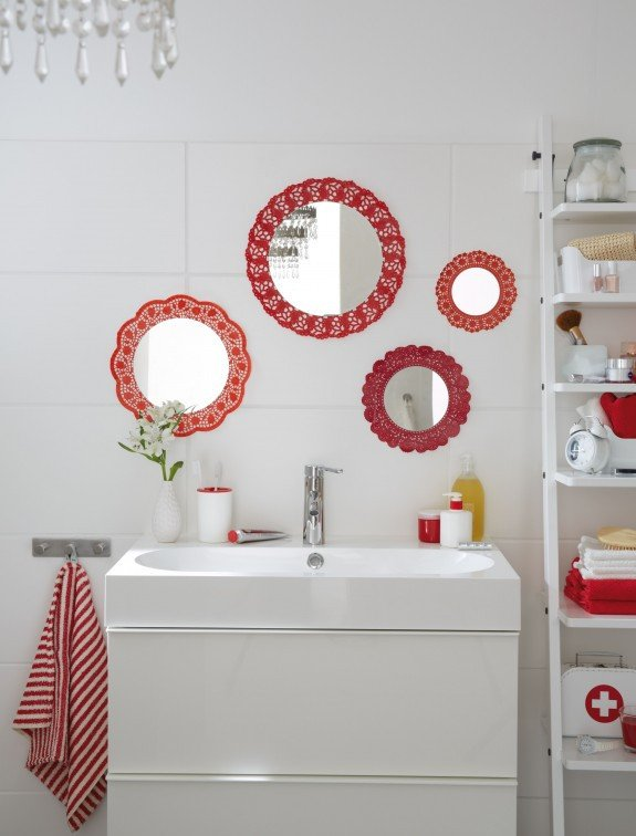 Small Mirrors for Wall Decor Inspirational Diy Bathroom Decor On A Bud – Cute Wall Mirrors Idea
