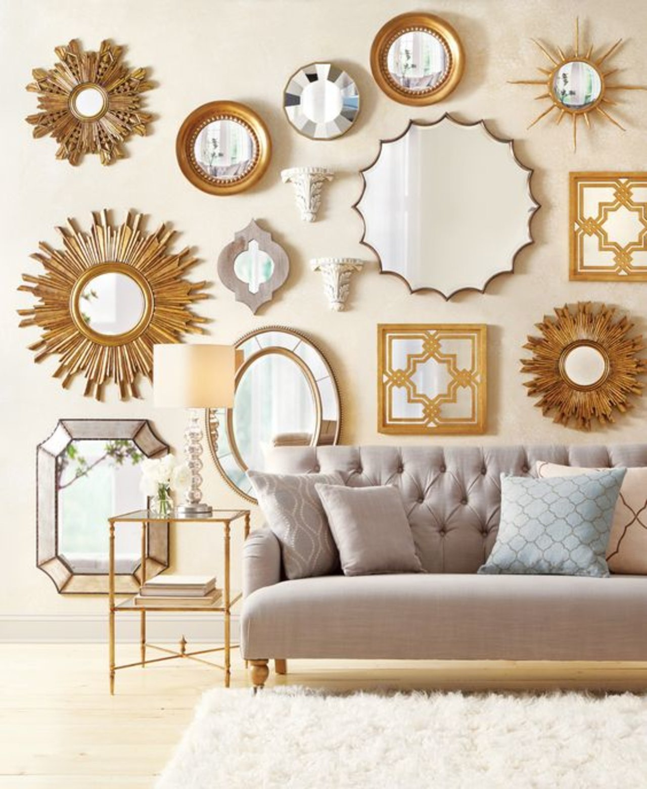 Small Mirrors for Wall Decor Luxury Wall Decor 10 Best Mirror Decorating Ideas for Your Room Maximize Your Living Room S Style