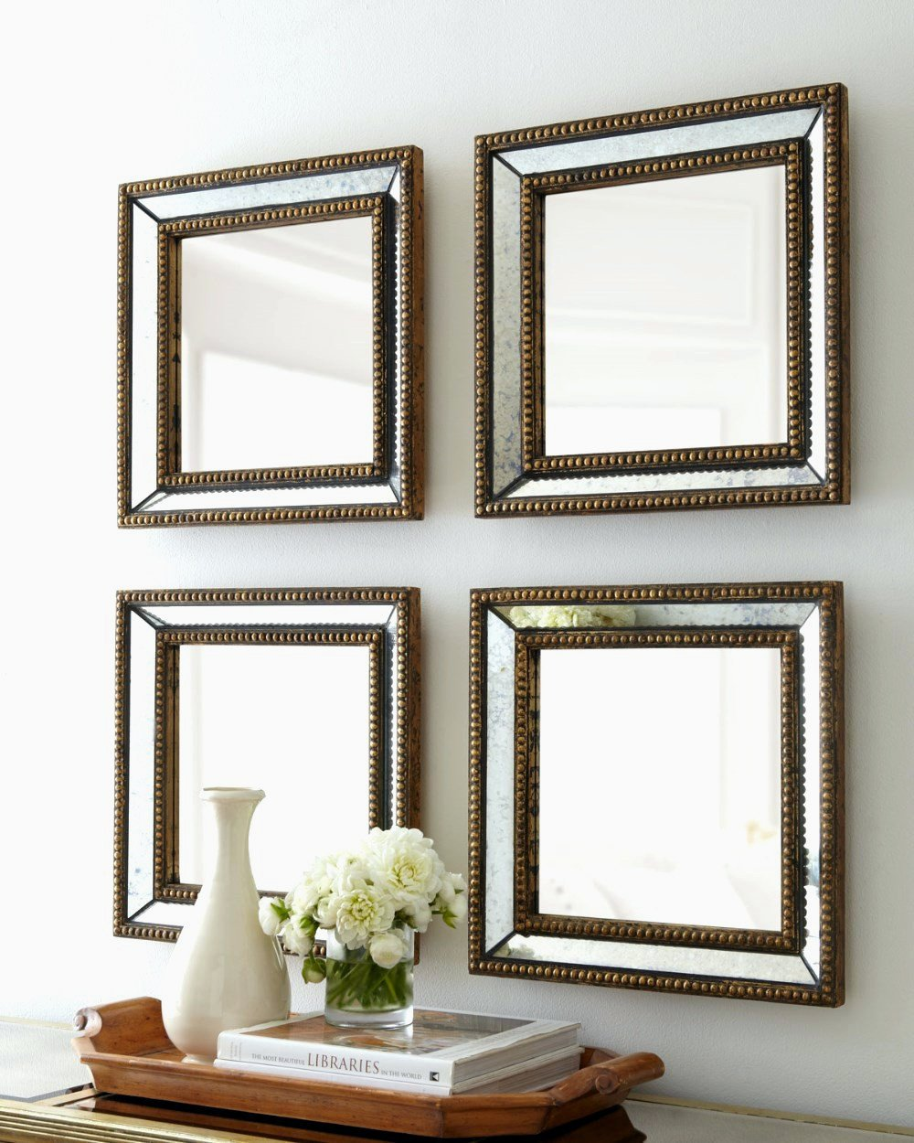 Small Mirrors for Wall Decor Unique Clever Design Ideas Wall Mirror Set Dubois Small Square Mirrors Accent Wood Designs Decoration