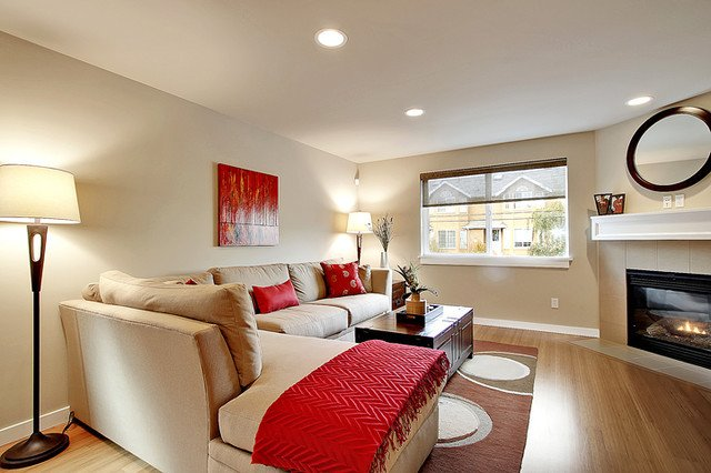 Small townhouse Living Room Ideas Luxury townhouse Living Room Modern Living Room Seattle by Seattle Staged to Sell and Design Llc
