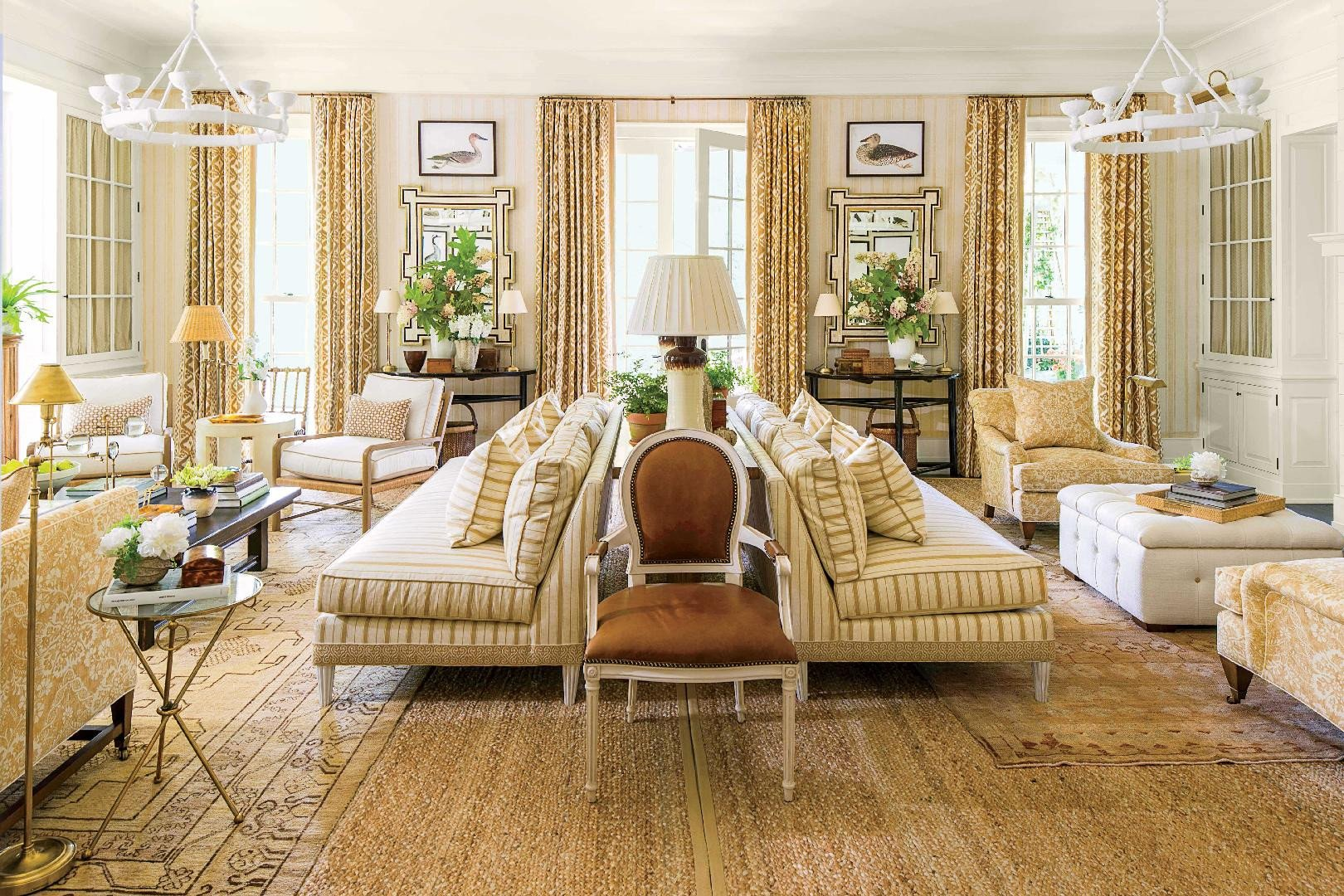 Southern Traditional Living Room Awesome Idea House Living Room by Mark D Sikes southern Living