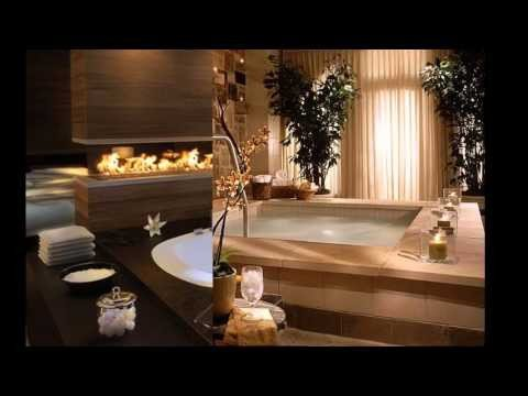 Home spa design decorating ideas